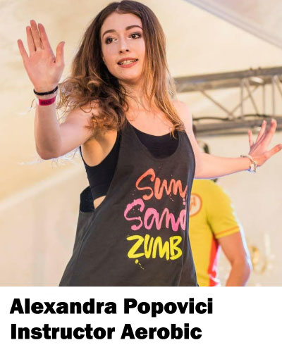 Alexandra Popovici Instructor Fitness