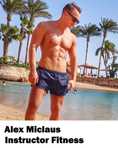 Alex Miclaus Instructor Fitness